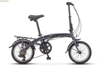 "360 seryy 1 350x228 - Велосипед Стелс (Stels) Pilot-360 14"" V010, Алюминий  , р. 9"", цвет  Серый"