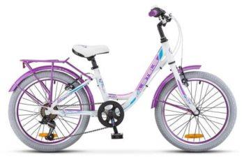 "458507.750 350x228 - Велосипед Стелс (Stels) Pilot-230 Lady 20"" V010, Алюминий , р12"", цвет Белый"