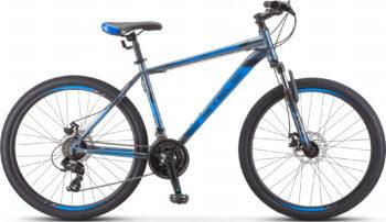 "700 md seryy siniy 1 1 350x202 - Велосипед Стелс (Stels) Navigator-700 MD 27.5"" F010, Сталь, р 17,5, цвет Серый/синий"