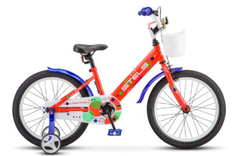 "Captain 18 V010 neon red 350x228 - Велосипед Стелс (Stels) Captain 18"" V010, Сталь , р 10"", цвет  Неоновый-красный"