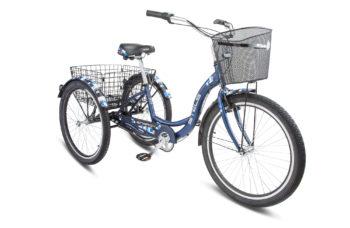"""Energy III 26 V030 dk blue 350x228 - Велосипед Стелс (Stels) Energy-III 26"""" V030, Алюминий , р. 16"""", цвет   Синий"""