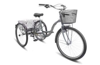 """Energy VI 26 V010 gray glossy 350x228 - Велосипед Стелс (Stels) Energy-VI 26"""" V010, Сталь , р. 17"""", цвет Серый"""