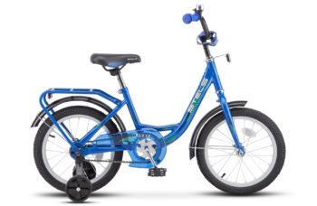"Flyte 16 Z011 blue 2018 350x228 - Велосипед Стелс (Stels)Flyte 16"" Z011, Сталь , р 11"", цвет   Синий"