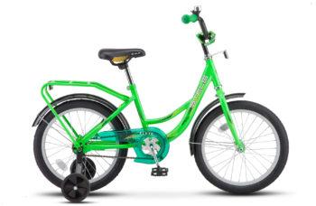 "Flyte 18 Z011 green 2018 350x228 - Велосипед Стелс (Stels) Flyte 18"" Z011, Сталь , р 12"", цвет   Зелёный"