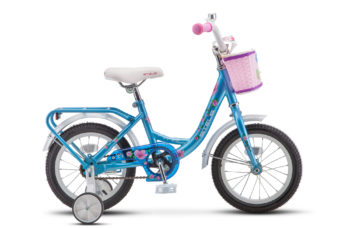 """Flyte Lady 14 Z011 Blue 350x228 - Велосипед Стелс (Stels) Flyte Lady 14"""" Z011, Сталь , р 9,5"""", цвет   Синий"""