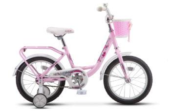 """Flyte Lady 16 Z011 Pink 350x228 - Велосипед Стелс (Stels)Flyte 16"""" Z011, Сталь , р 11"""", цвет   Розовый"""