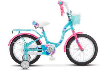 """Jolly 16 V010 light mint 350x228 - Велосипед Стелс (Stels)Jolly 16"""" V010 , Сталь , р 9,5"""", цвет    Мятный"""