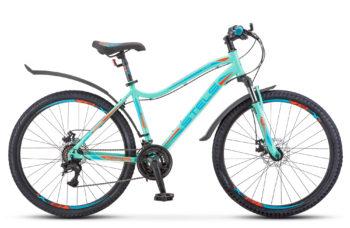 "Miss 5000 MD 26 V011 light turquoise 350x228 - Велосипед Стелс (Stels) Miss-5000 MD 26"" V011, Сталь , р 15"", цвет Светло-бирюзовый"