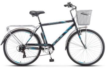 """Navigator 250 Gent 26 Z010 gray 2018 350x228 - Велосипед Стелс (Stels) Navigator-250 Gent 26"""" Z010 , Сталь , р. 19"""", цвет  Серый"""