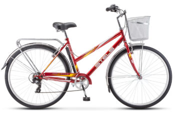 "Navigator 350 Lady 28 Z010 red2017 350x228 - Велосипед Стелс (Stels) Navigator-350 Lady 28"" Z010 , Сталь , р. 20"", цвет Красный"