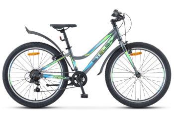"""Navigator 420 V 24 V030 gray matt 350x228 - Велосипед Стелс (Stels) Navigator-420 V 24"""" V030, Алюминий , р12"""", цвет  Серый"""