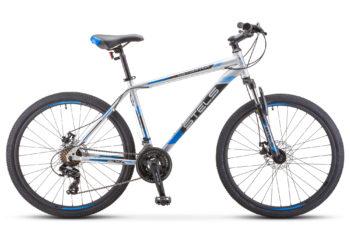 "Navigator 500 MD 26 F010 silver blue 350x228 - Велосипед Стелс (Stels) Navigator-500 MD 26"" F010 , Сталь, р 20"", цвет Серебристый/синий"
