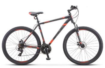 "Navigator 900 MD 29 F010 black red 350x228 - Велосипед Стелс (Stels) Navigator-900 MD 29"" F010"" F010, Сталь, р.17,5, цвет: Чёрный/красный"