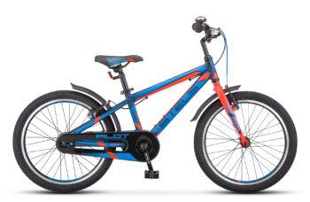 "Pilot 250 Gent 20 V010 dark blue neon red matt 350x228 - Велосипед Стелс (Stels) Pilot-250 Gent 20"" V010, Алюминий , р11"", цвет  Тёмно-синий/неоновый-красный"