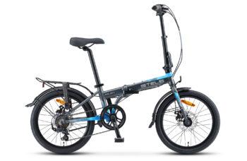 """Pilot 630 MD 20 V010 gray blue matt 350x228 - Велосипед Стелс (Stels) Pilot-630 MD 20"""" V010, Алюминий  , р. 11,5"""", цвет  Серый/синий"""