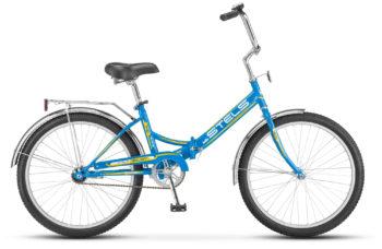 """Pilot 710 24 Z010 blue yellow 350x228 - Велосипед Стелс (Stels) Pilot-710 24"""" Z010, Сталь , р. 16"""", цвет Голубой-желтый"""