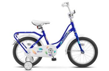 "Wind 16 Z020 blue 350x228 - Велосипед Стелс (Stels) Wind 16"" Z020, Сталь , р 11"", цвет  Синий"