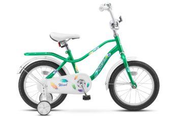 """Wind 14 Z010 green 350x228 - Велосипед Стелс (Stels) Wind 14"""" Z020, Сталь , р 9,5"""", цвет  Зелёный"""