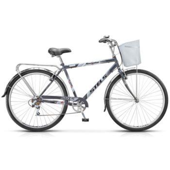 """seryy 350 350x350 - Велосипед Стелс (Stels) Navigator-350 Gent 28"""" Z010 , Сталь , р. 20"""", цвет Серый"""